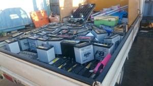 埼玉県でのバッテリー回収事例