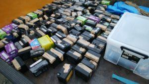 今年最後のバッテリー回収
